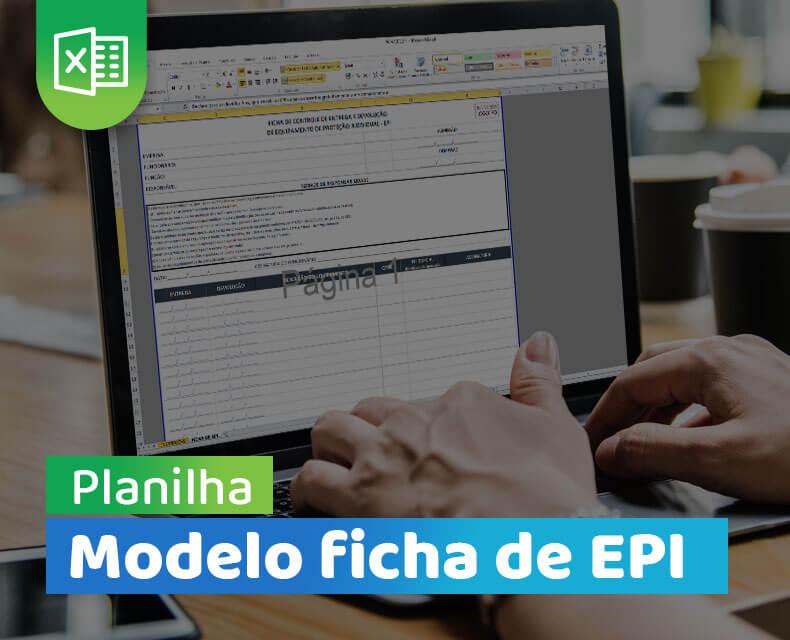 Imagem de modelo de ficha de EPI